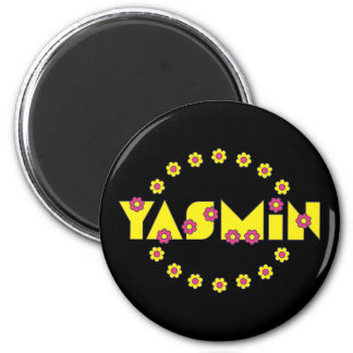 Yasmin in Flores Yellow Magnets