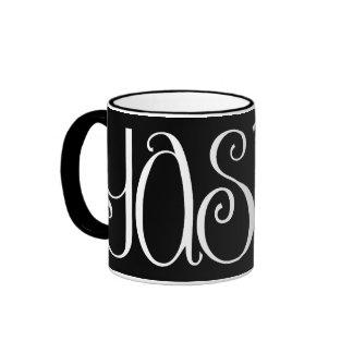 Yasmin white Mug