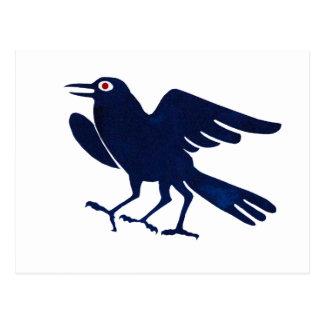 Yatagarasu symbol of Japan Postcard