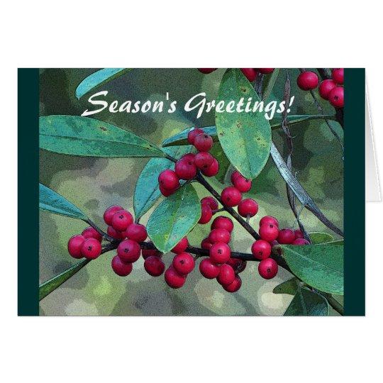 Yaupon Holly Card