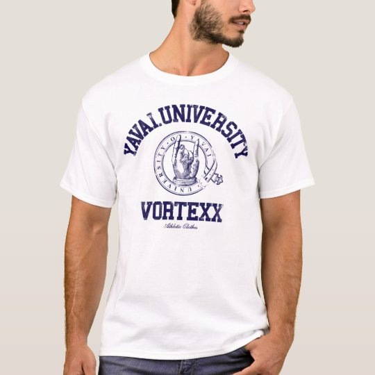 Yavai University T-shirts navy