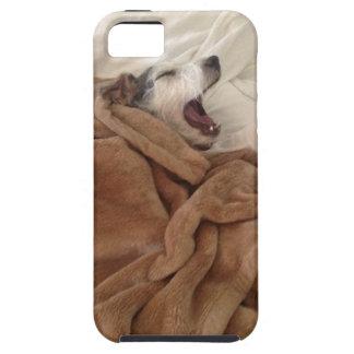 Yawning Doggy iPhone 5 Cases