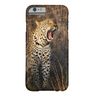 Yawning Leopard Barely There iPhone 6 Case