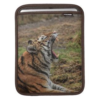 Yawning Tiger iPad Sleeve