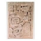 Yaxchilan lintel , Late Classic period Postcard