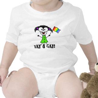 Yay 4 Gay Creeper Bodysuits