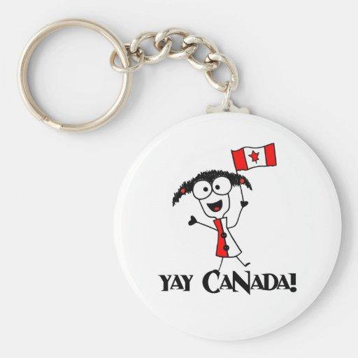 Yay Canada! Keychain