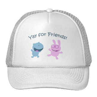 Yay for Friends! Hats