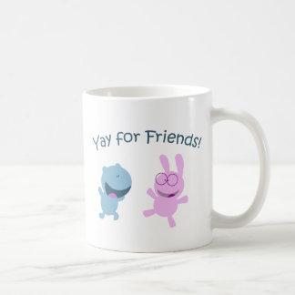 Yay for Friends! Coffee Mugs