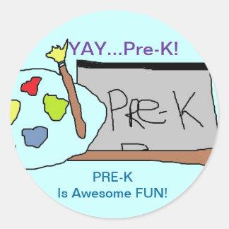 Yay Pre=K Stickers