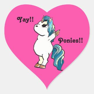 Yay!! Unicorn. Sticker