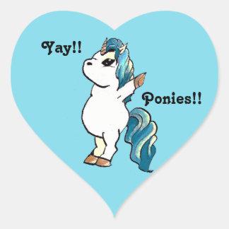 Yay!! Unicorn. Stickers
