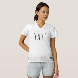 """YAY!"" Women's Augusta Replica Football Jersey"