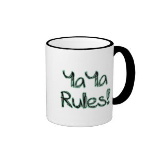 YaYa Rules! Ringer Mug