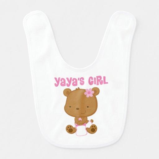 Yayas Girl Bib