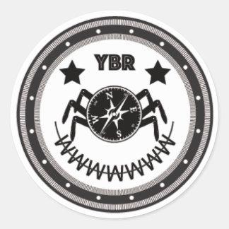 YBRclown Classic Round Sticker