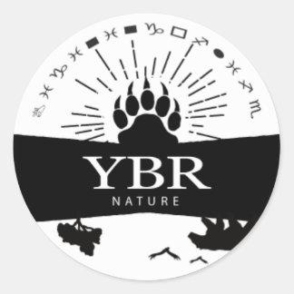 YBRnature_sticker Classic Round Sticker