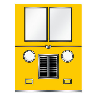 Ye Old Bus (Customizable color) Postcard