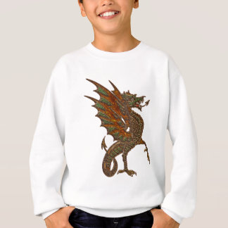 Ye Old Medieval Dragon Design Sweatshirt
