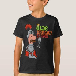 Ye Olde Dragon Slayer Kids Tee