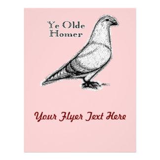 Ye Olde Homer 21.5 Cm X 28 Cm Flyer
