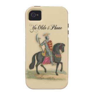 Ye Olde iPhone case with knight on horse Case-Mate iPhone 4 Covers