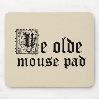 Ye Olde Mouse Pad