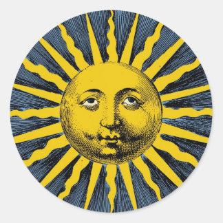 Ye Olde Sunbeam Round Sticker