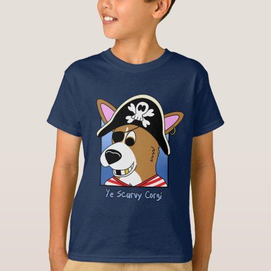 Ye Scurvy Corgi Child's T-Shirt