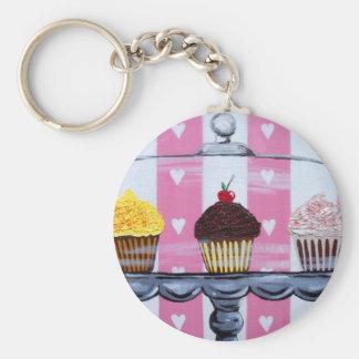 yea! cupcakes! key ring