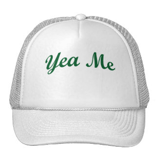 Yea Me Green Cap