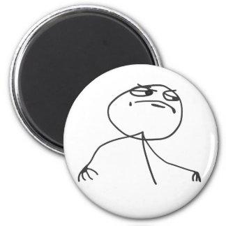 Yeah 6 Cm Round Magnet
