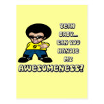 Yeah Baby.. Can You Handle My Awesomeness? Post Cards