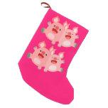YEAH!! Cute Cartoon Pigs Christmas Stocking