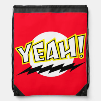 Yeah! Drawstring Backpack
