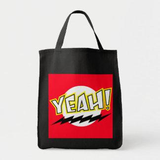 Yeah! Grocery Tote Bag