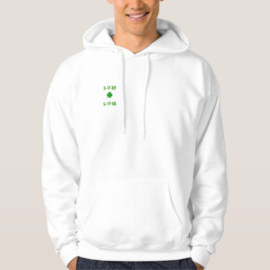 """""""Yeah Right"""" Clover Hoodie"""