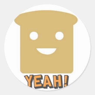 Yeah! Round Sticker