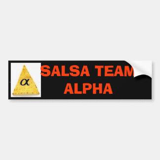 yeah, , SALSA TEAM  Bumper Sticker