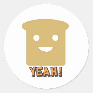Yeah! Round Stickers