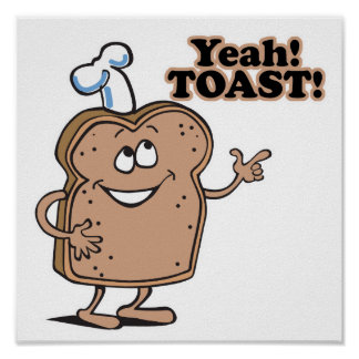 Yeah! TOAST! Poster