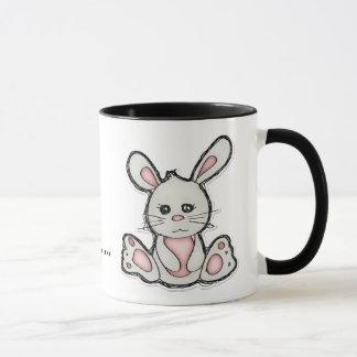 Yeah, Whatever Bunny for Coffee Mug