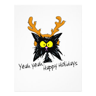 """Yeah Yeah...Happy Holidays"" 21.5 Cm X 28 Cm Flyer"