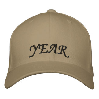 Year Cap Embroidered Baseball Caps