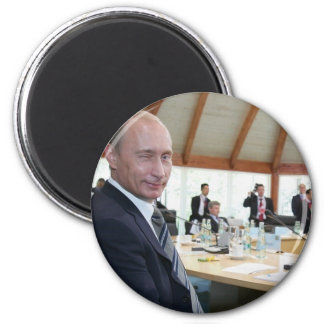 Year In Focus 2007 News Putin Magnet
