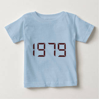 Year of birth - 1979 - Birthday Baby T-Shirt