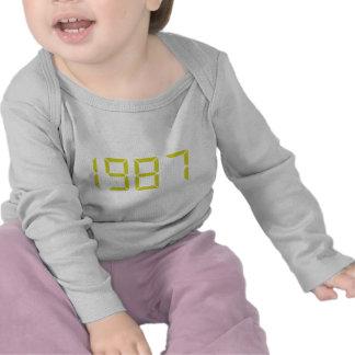 Year of birth - 1987 - Birthday Tee Shirt