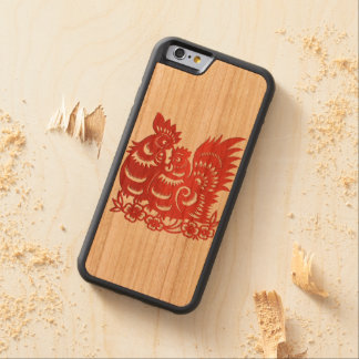 """""""Year of Rooster Phone Case"""" Cherry iPhone 6 Bumper"""