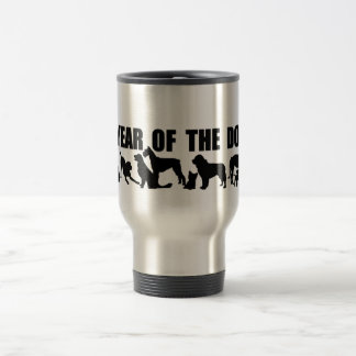 Year of the Dog Chinese Ideogram Symbol Travel Mug