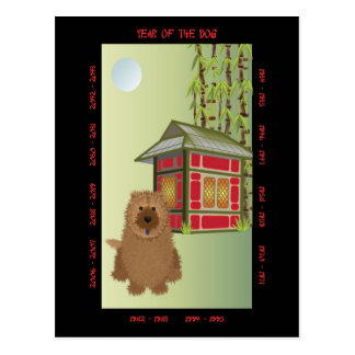Year of the Dog Post Cards